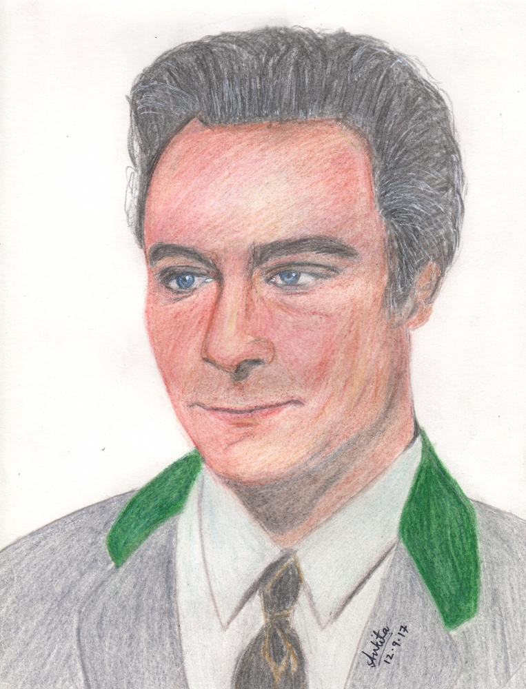 Christopher Plummer by Ankita